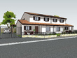 Create a detailed sketchup model of house