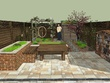 Draw your backyard in sketchup, 3ds max,  Autocad
