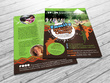 Design an double-sided flyer or invite
