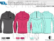 Design your sportswear and active apparel 4 piece range