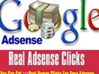 Give you 50 Real google adsense add click (UK, USA)