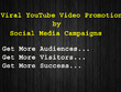 Do viral promotion of your YouTube Video