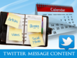 Create Twitter Tweet content with hashtags
