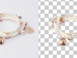 Clipping path and resize 10 images