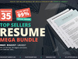 Deliver Top Sellers Resume Mega Bundle
