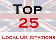 Citations building, UK directories, UK Google map citations