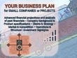 Deliver an investor-ready business plan with 5+yrs financials - GROWTH stage