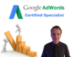 Manage your Google AdWords account for a month, including optimisation