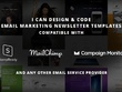 Design & build great responsive HTML Email Newsletter Templates