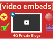 Embed your Youtube video to 30x High PR 2 - 5 Moz DA20+ Blogs