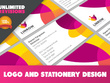 Design your logo, letterhead, compliment slip and business card
