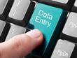 Do data entry work for 1 hour