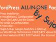 WordPress All-In-One Site(Theme Demo Setup, Logo, Plugins Setup)