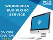 Fix your wordpress issue , errors and theme customization