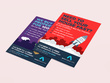 Design your double sided flyer, leaflet or poster