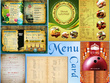 Design restaurant/bar/cafe menu card - double sided/tri fold/single fold