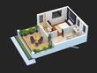 Convert your 2d Drawings / Sketch into 3d Floor Plan