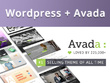 Install, customize & develop your Wordpress site with Avada theme