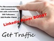 Boost Linkedin with Connections - Endorsements - Views - Recommendations - SEO