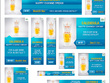 Design a set of 10 Google Adwords/PPC Web banners