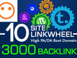Do SEO backlink service to website blog or youtube to rank on search engine