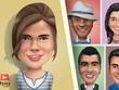 Draw business id, portrait, profil pic, cartoon caricature style