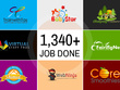Create a professional logo with 3concepts and unlimited revisions