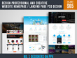 Design Professional And Creative Website Homepage / Landing Page PSD design