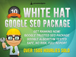 100% White Hat SEO Package - Google Safe SEO Links - Latest Algo