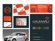 Design you two custom logo concepts & a custom brand board.