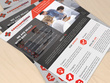 Create corporate flyer design