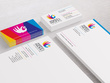 Design Stationery with Business Card, Letterhead and Envelope
