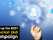 Set-up the best possible pay per click ad campaign on a social network of your choice