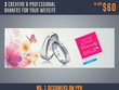Design Creative & Professional Banners For Your Website