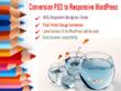 Conversion psd to responsive WordPress