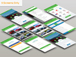 Design mobile app UI/UX for Android / iOS and Incuding all PSD sources Files