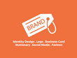Create Your Brand - Logo Design - Stationary Design - Facebook Page Cover - Favicon
