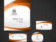 Design a stationary pack (logo + business card + invoice + brochure an remaining)