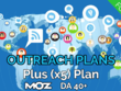 Provide our plus (x5) blogger outreach plan, guaranteed FOLLOW links blogs Moz DA40+