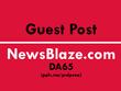 Publish your news article on newsblaze - newsblaze.com DA64