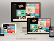 Convert PSD Into Responsive HTML5/CSS3 using Bootstrap 4