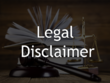 Write a Legal Disclaimer