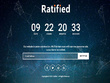 Creative Coming Soon Template page with Countdown timer