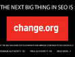 Write and post article/petition on change.org with a backlink