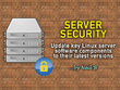 Update key components on your Linux server to latest versions: security & reliability