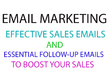 Write a Premium SALES EMAIL for Your Email Marketing Campaign
