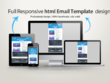Design responsive editable mailchimp newsletter or professional html email template