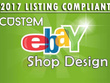 Create custom BESPOKE RESPONSIVE design for your eBay store