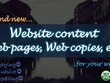 Write your website's content, web pages, web copies, etc. (3000 words)