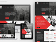 Design an amazing Home page PSD mockup for Website + provide Branding guide